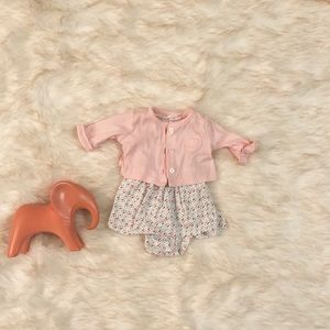 Other - Baby girl dress with cardigan